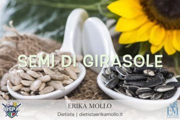 IBSPA | OFF SEASON | Alimentazione, Dott.ssa Erika Mollo: I SEMI OLEOSI